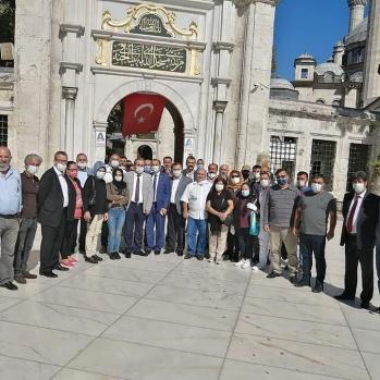 GÜDAP Eyüpsultan'da Mustafa Canlı için Mevlid-i Şerif Okutu