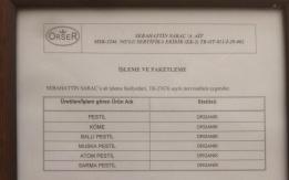 Saraç'tan Organik Pestil Girişimi