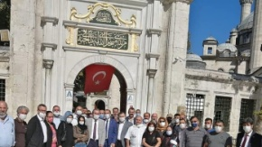 GÜDAP Eyüpsultanda Mustafa Canlı için Mevlid-i Şerif Okutu