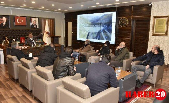 Başkan Ercan Çimen Müjdelerle Döndü