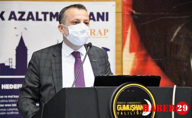 Gümüşhane'de İl Afet Risklerini Azaltma Planı (İRAP) Toplantısı Yapıldı