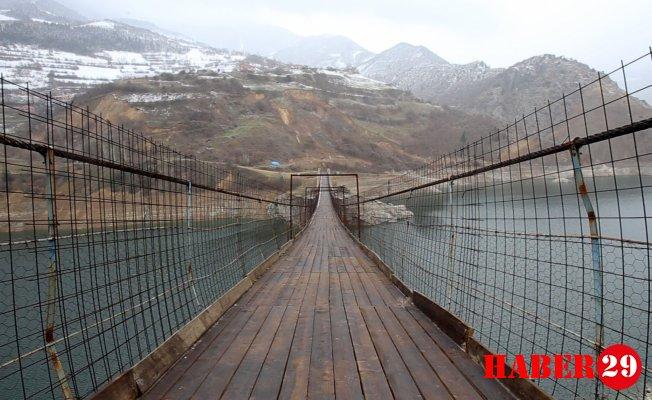 Burası da Gümüşhane'nin Boğaz Köprüsü