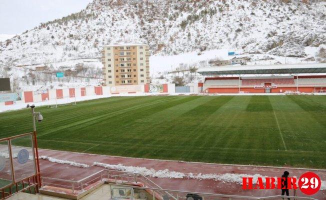 Yenişehir Stadyumu Karşılaşmaya Hazır