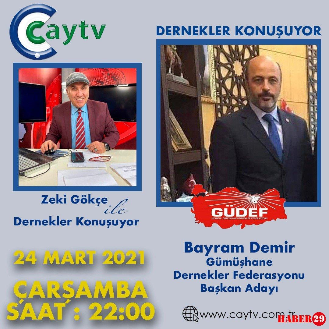 Bayram Demir, Çay Tv'ye Konuk Oluyor