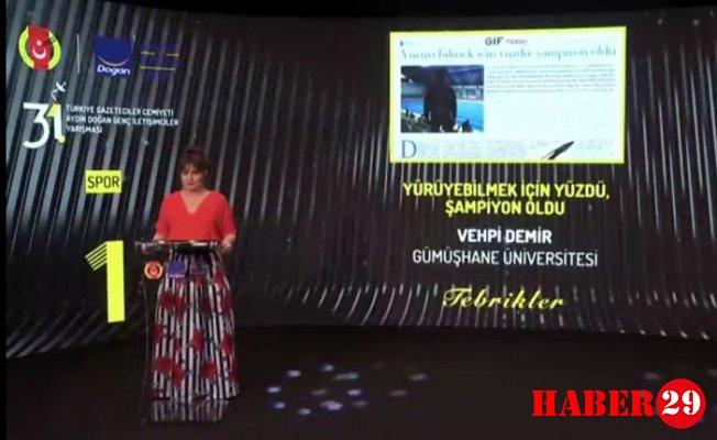 İletişim Fakültesinden 3 Ödül Birden