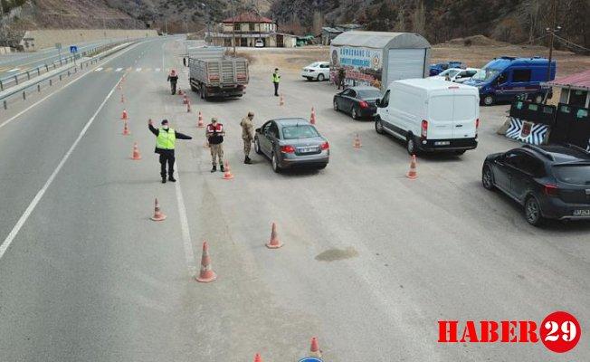 Jandarma'dan Dronla Trafik Uygulaması