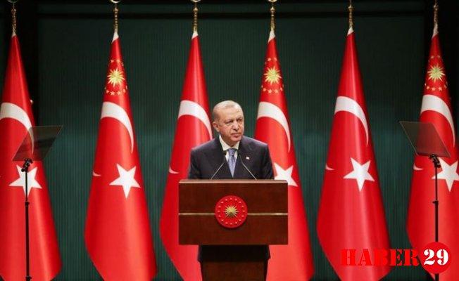 Kabine Toplantısı Sona Erdi! Cumhurbaşkanı Erdoğan Alınan Kararları Açıkladı