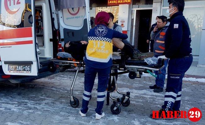 Konya'da Çiğ Köftecide Tüfekli Saldırı