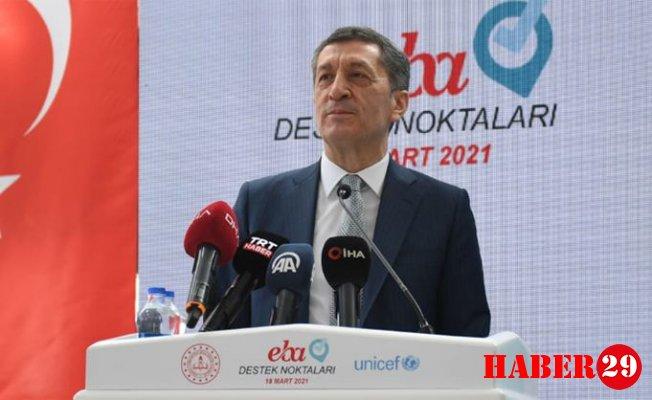 Milli Eğitim Bakanı Selçuk'tan Flaş EBA Açıklaması
