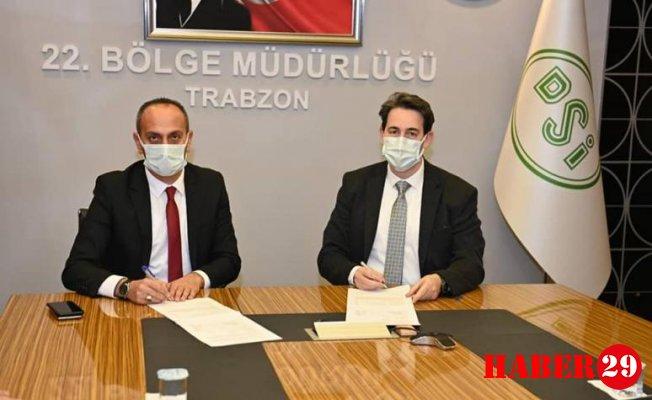Şiran Belediyesi ile DSİ Arasında Sulama Tesisi Devri Protokolü İmzalandı
