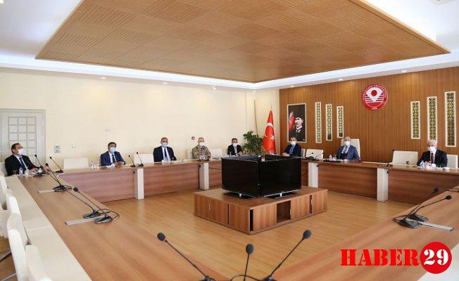 GÜ'de Sınav Koordinasyon Toplantısı Gerçekleştirildi
