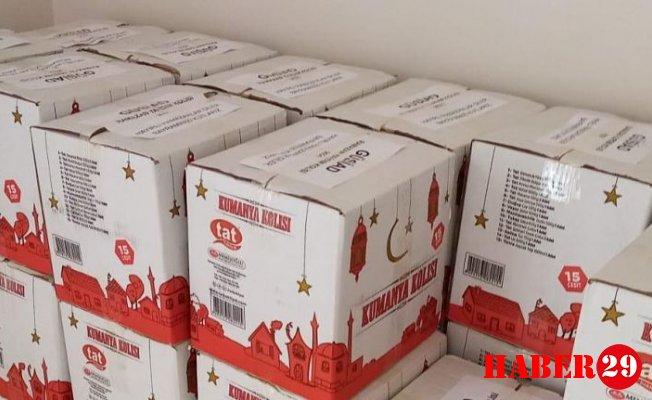 GÜSİAD'dan 500 yardım kolisi
