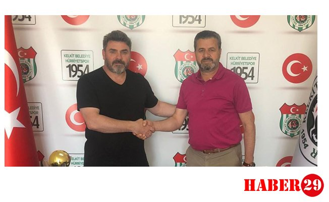 1954 Kelkit Belediyespor, teknik direktör Ulaş Ulusan ile sözleşme uzattı