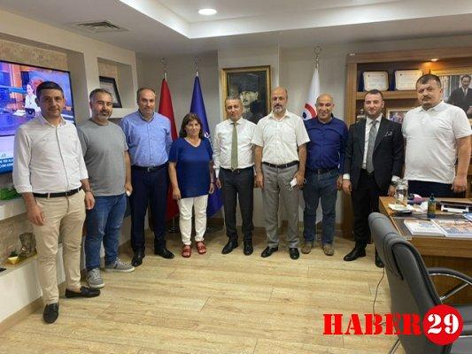 GÜDEF'ten GÜSİAD Başkanı Yüksel Yalçın'a ziyaret