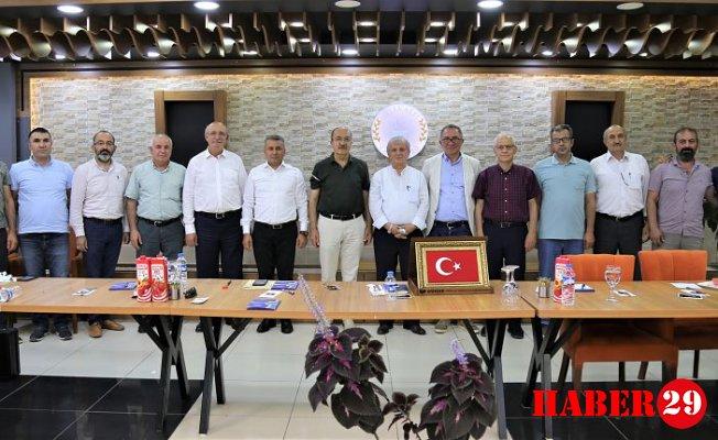 Gümüşhane Üniversitesi Kalkındırma Vakfı Toplantısı Gerçekleştirildi