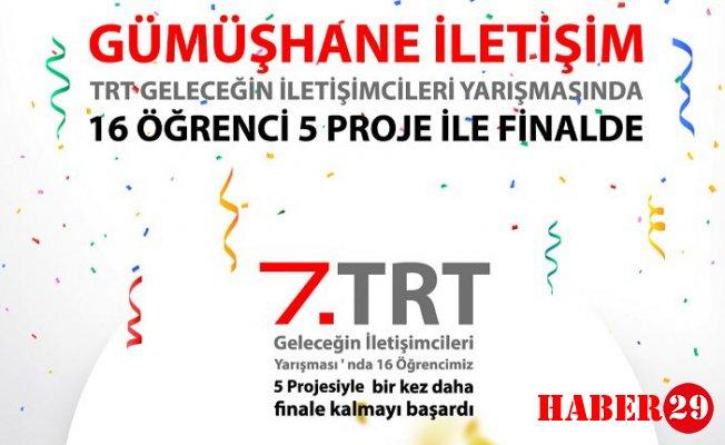 İletişim Fakültesi TRT Geleceğin İletişimcileri Yarışması'nda Finalde