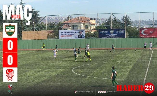 Gümüş Gol Yüzü Görmedi: 0-0