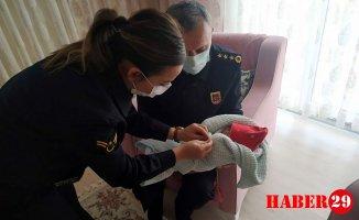 Jandarma'dan Şehit Ailesine Ziyaret