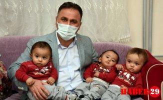 Başkan Çimen'den Üçüzlere Ziyaret