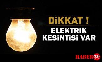 Dikkat! Gümüşhane'de Elektrik Kesintisi Uygulanacak