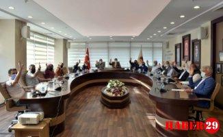 Gümüşhane Belediyesi Meclisi İsrail'i Kınadı