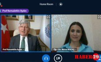 Prof. Dr. Kemalettin Aydın, Şiran Sağlık Hizmetleri MYO'ya Konuk Oldu