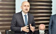 Ulaştırma ve Altyapı Bakanı Adil Karaismailoğlu Gümüşhane'de