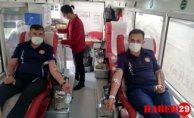 İtfaiye'den Kan Bağışı